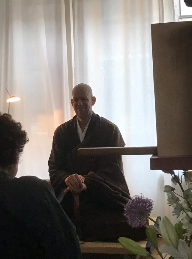 Sesshin Amsterdam, March 2020, Master Kosho
